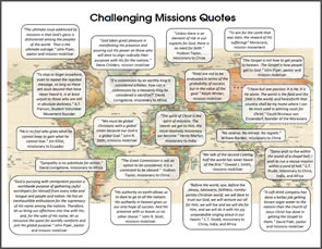 10.  Challenging Missions Quotes