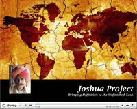 Joshua Project Overview PowerPoint