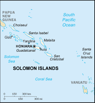 Solomon Islands World Map.Areare In Solomon Islands Ethnic People Profile