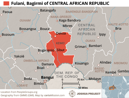 Ethnic People Groups of Central African Republic Joshua Project