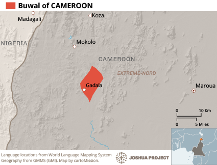 Buwal In Cameroon Ethnic People Profile - Cameroon language map