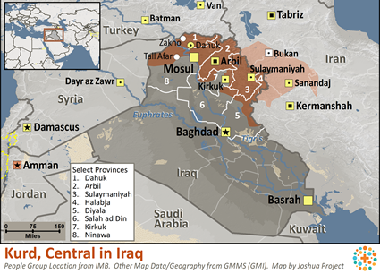 Kurd, Central in Iraq Ethnic People Profile