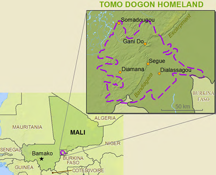 Dogon, Tomo Kan in Côte d