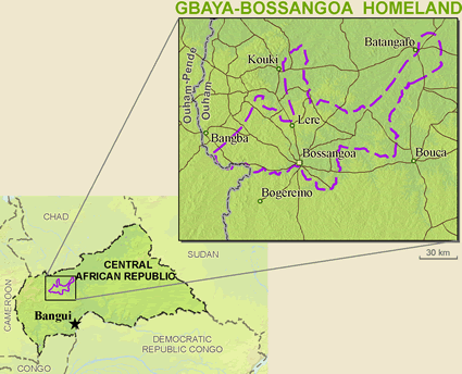 GbayaBossangoa in Central African Republic Ethnic People Profile
