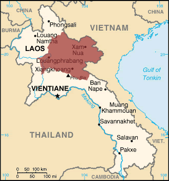 Hmong Daw in Vietnam map