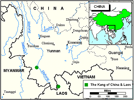 Tai Khang in China map