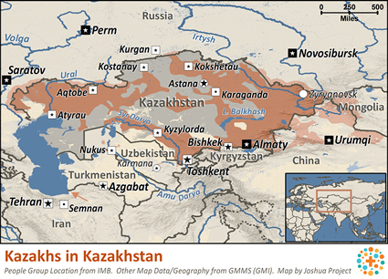 Kazakh in Kazakhstan Ethnic People Profile