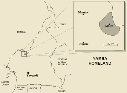 Yamba in cameroon ethnic people profile yamba in cameroon map ccuart Image collections