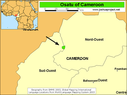 Osatu in cameroon ethnic people profile for 10 40 window prayer points