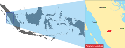 Penghulu in Indonesia map
