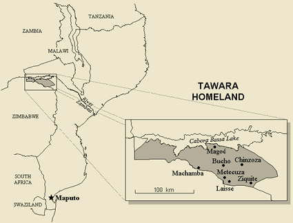 Tawara in mozambique ethnic people profile for 10 40 window prayer points
