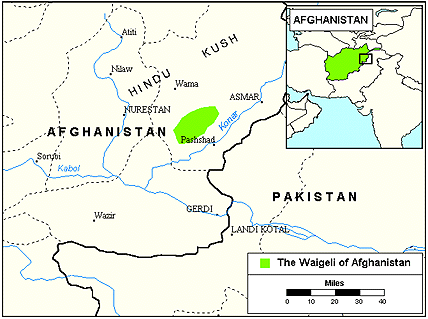 Nuristani, Waigeli in Afghanistan Ethnic People Profile