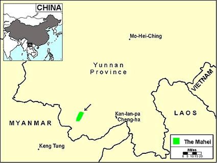 Baihong in China map