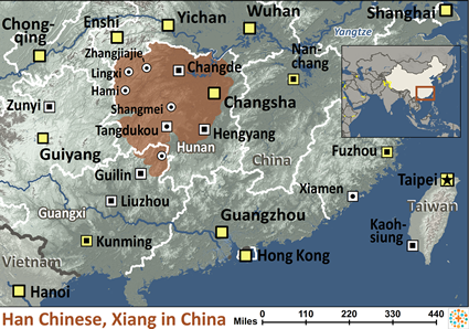 Han chinese xiang in china ethnic people profile han chinese xiang in china map gumiabroncs Choice Image