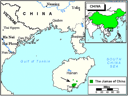 Li, Jiamao in China map