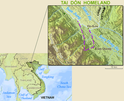 Tai Kao in China map