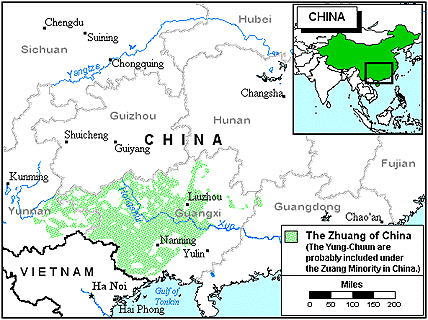 Yongchun in China map