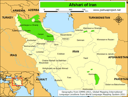 Afshari in Iran Ethnic People Profile